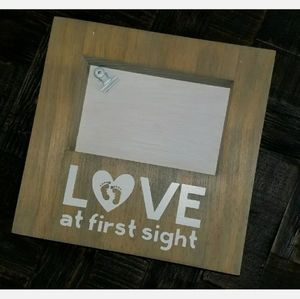 Love At First Sight Photo Frame